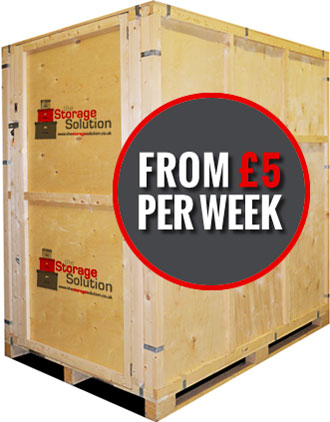 Storage units from £5 per week