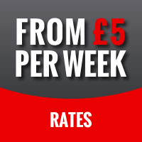 Rates from £5 per week
